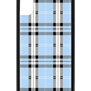 Wildflower Limited Edition Cases for iPhone X and XS (Blue Plaid)